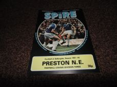 Chesterfield v Preston North End, 1981/82